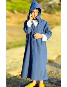 Bourchman boy blue djellaba