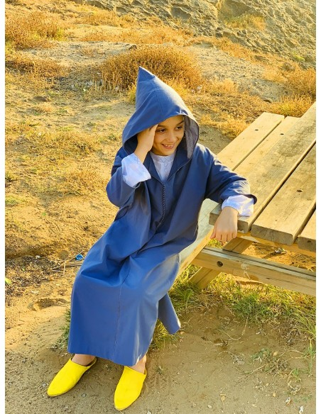 Bourchman boy blue djellaba